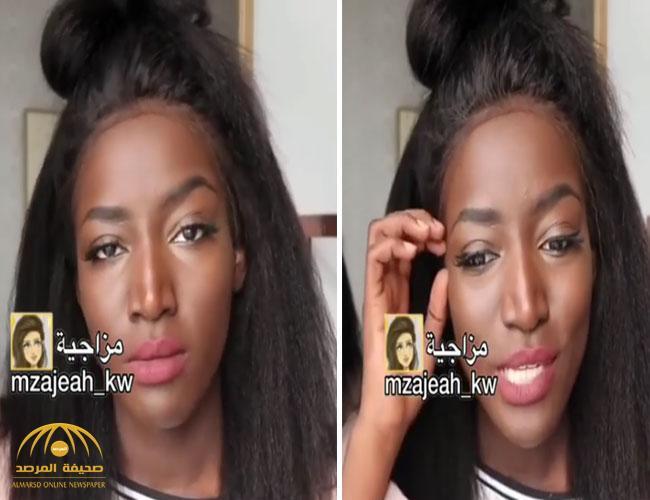 """بالفيديو : سعودية تكسر الصمت وتكشف معاناتها بسبب لون بشرتها… """"مرة مرة سودا""""!"""