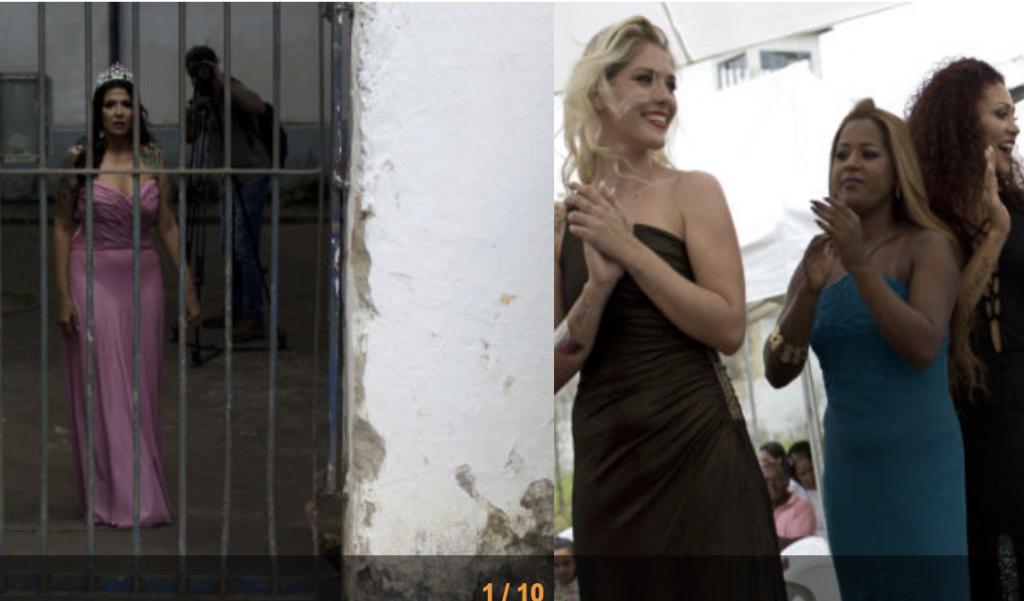 """شاهد بالصور .. مسابقة """"ملكة جمال السجون"""" في البرازيل"""