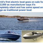 شاهد: طرح أول قارب سريع يعمل بالكهرباء في العالم بتقنية سويدية متميزة – فيديو
