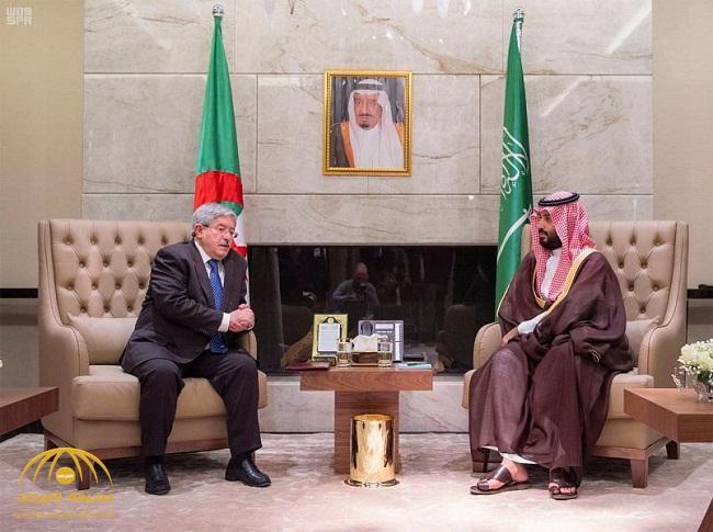 """""""المرصد""""  تنشر تفاصيل محادثات ولي العهد مع الوزير الأول الجزائري والبيان المشترك"""