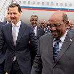 بالصور: البشير بدمشق في أول زيارة لرئيس عربي منذ بدء أزمة سوريا
