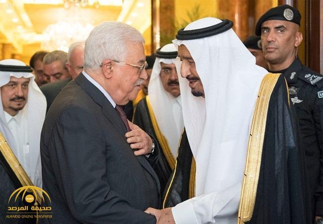 """تعليق الرئيس الفلسطيني على كلمة  """"خادم الحرمين"""" في القمة الخليجية تجاه القضية الفلسطينية"""