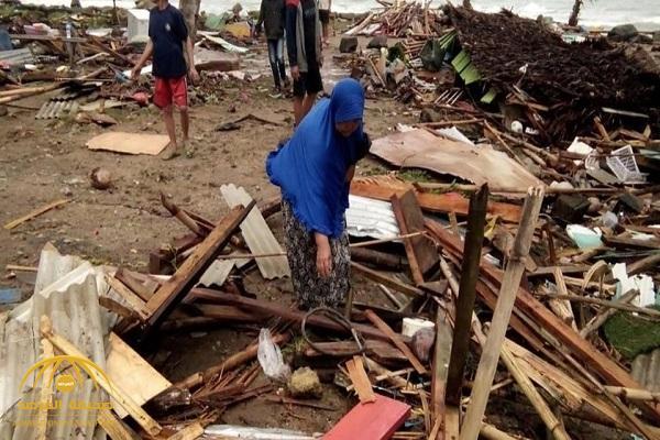 تسونامي يبث الرعب في إندونيسيا ويحصد 222 قتيلاً! -فيديو