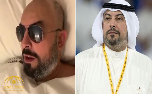 بالفيديو .. الشيخ طلال الفهد يكشف عن آخر تطورات مرضه الخطير