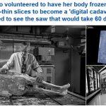 """أول امرأة تتحول إلى جثة رقمية خالدة وهي """"على قيد الحياة"""" – صور"""