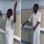 """""""صحة جازان"""" تعلق  على   مقطع  لمواطن   متذمر  داخل مستشفى بيش : """"عندي واسطة محمد بن سلمان""""!"""