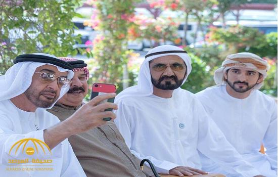«سيلفي الملوك والأمراء مختلف».. هكذا ظهر ملك البحرين وبن زايد وبن راشد في صورة جماعية