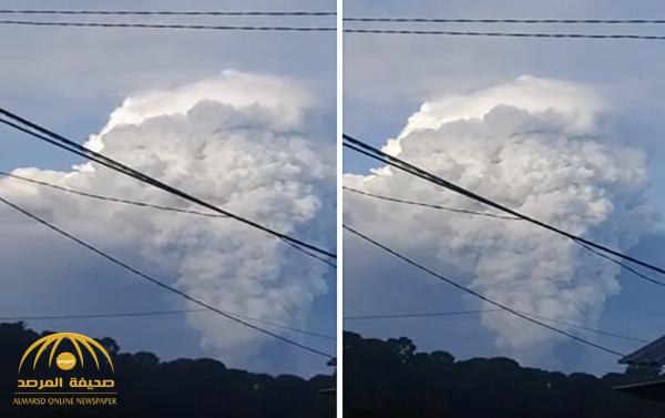 شاهد: لحظة ثوران بركان جبل سوبوتان في إندونيسيا.. وإدارة الكوارث تعلق!