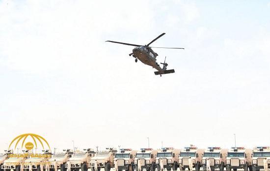 شاهد.. بالصور: قوات الحرس الوطني تكشر عن أنيابها العسكرية وتظهر قوتها!
