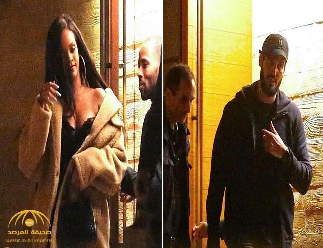 شاهد .. كاميرات ترصد المغنية  العالمية «ريهانا» برفقة ملياردير سعودي.. ولهذا أسرعا لدخول السيارة!