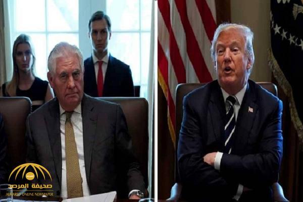 """"""" ترامب"""":  يمتدح """" بومبيو"""" ويهين وزير الخارجية السابق بهذا الوصف!"""