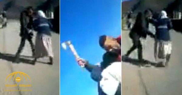 """جريمة مروعة بـ المغرب.. شاب """"هائج"""" يحاول اغتصاب فتاة بالقوة و يعتدي على أمها بـ""""ساطور""""!"""