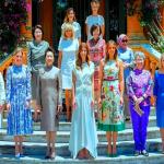 شاهد.. بالفيديو والصور اللقاء الذي جمع بين زوجات القادة على هامش قمة العشرين!