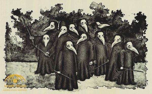 """""""رسل الموت"""".. قصة قناع حصد ملايين الأوروبيين ونشر الجثث في الشوارع!"""