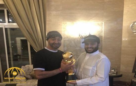 شاهد.. آل الشيخ ومحمد بن زايد يكشفان الشكل النهائي لكأس زايد للأندية الأبطال
