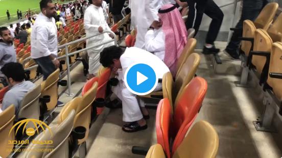 شاهد: طفل يدخل في نوبة بكاء بعد خسارة الاتحاد أمام الفيصلي.. وهكذا كان موقف والده!