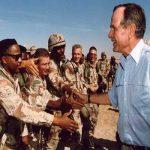 """تعرف على سيرة  من حياة  الراحل  الرئيس الأمريكي """"بوش الأب"""" و أبرز مناصبه السياسية!"""