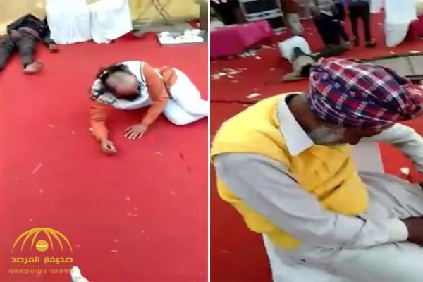 بالفيديو .. زفاف ينتهي بمأساة بعدما نفد الطعام