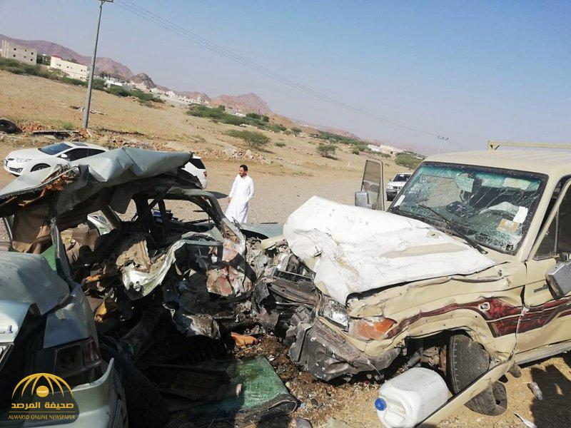 وفاة 5 طلاب بعسير في حادث مروع وإصابة 2 آخرين