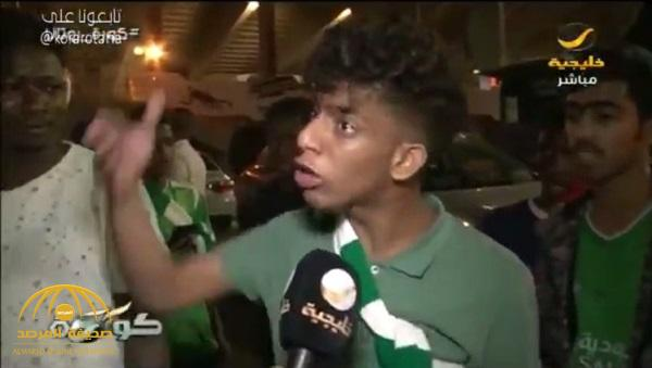 """شاهد بالفيديو : صدمة وانهيار وبكاء بين جماهير الأهلي .. """"مساكين"""" !"""