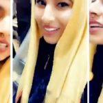 شاهد .. خليجية تشتري حجاباً من الذهب بهذا الثمن !