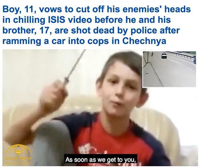 فيديو يوثق مقتل شقيقين داعشيين في الشيشان