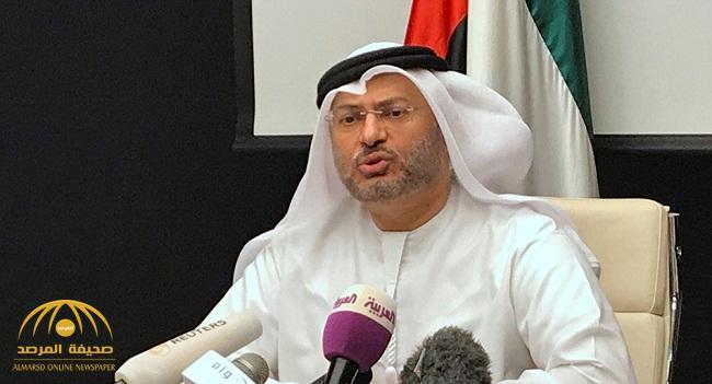 قرقاش يرد على تصريح وزير ألماني سابق حول أزمة قطر وقربه من تدخل عسكري!