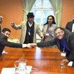 مصافحة استثنائية في السويد بين طرفي النزاع في اليمن