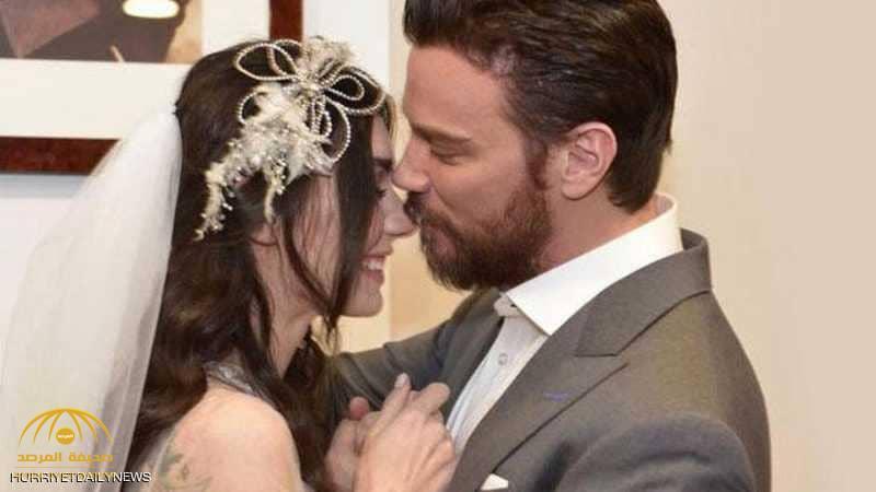"""""""اللباس الفاضح"""".. ممثلة تركية تثير ضجة بفستان الزفاف"""