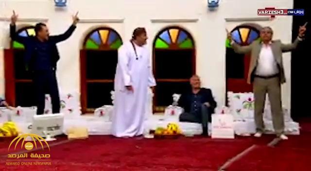 شاهد .. هتافات جماعية لإيران خلال برنامج على قناة الكأس القطرية