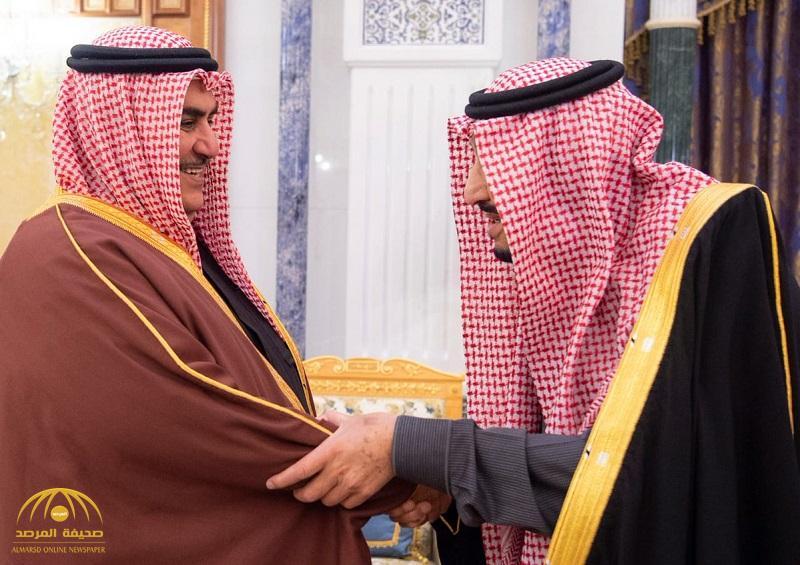 خادم الحرمين يستقبل وزير الخارجية في مملكة البحرين – صور