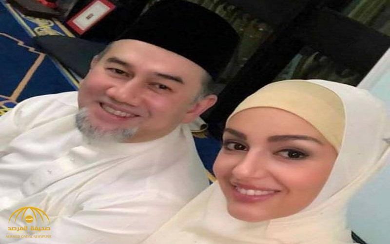 """زواج ملك ماليزيا وملكة جمال روسيا """"الحامل"""" في ورطة !"""