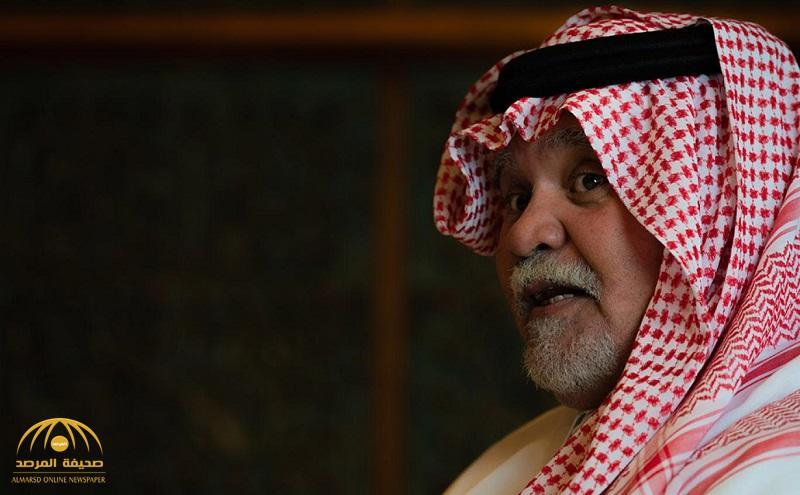 بندر بن سلطان : لهذا السبب دعمنا صدام في حربه ضد إيران مع علمنا أنه حاكم مجرم وسفاح بمعنى الكلمة!