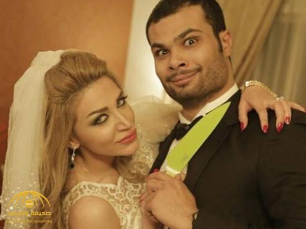 """هكذا احتفلت ملكة جمال سوريا """"سارة نخلة"""" بعد الانتصار على زوجها المصري الفنان أحمد عبدالله ووالدته !"""
