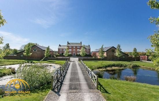 """بالصور: شاهد منزل فاخر للبيع في """"كونغلتون """" ببريطانيا"""