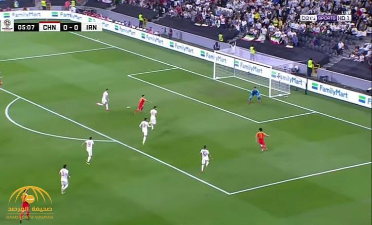 """شاهد ملخص أهداف """"إيران والصين"""" التي انتهت بفوز الأول وتأهله إلى نصف نهائي كأس آسيا"""