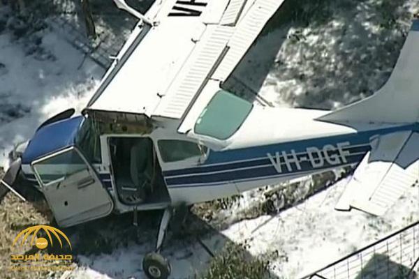 بالفيديو والصور: لحظة سقوط طائرة من ارتفاع 120 متر بطريقة مروعة في أستراليا .. وهذا كان مصير الركاب!