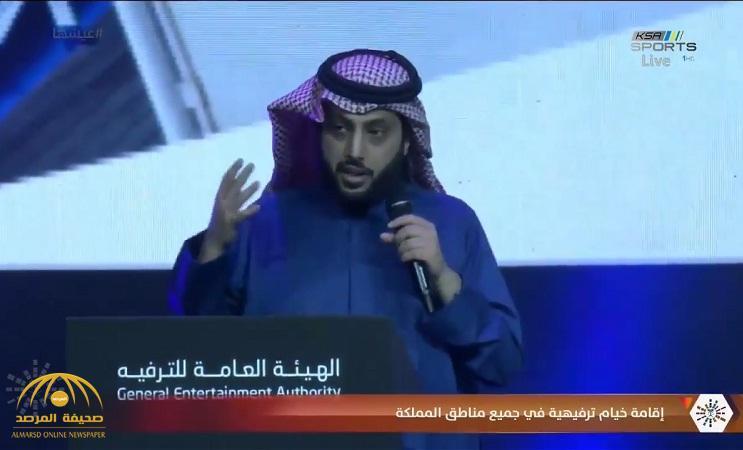 """""""تركي آل الشيخ"""" يعلن مفاجأة لأصحاب المقاهي والمطاعم.. وهذا ما طلبه منهم!"""