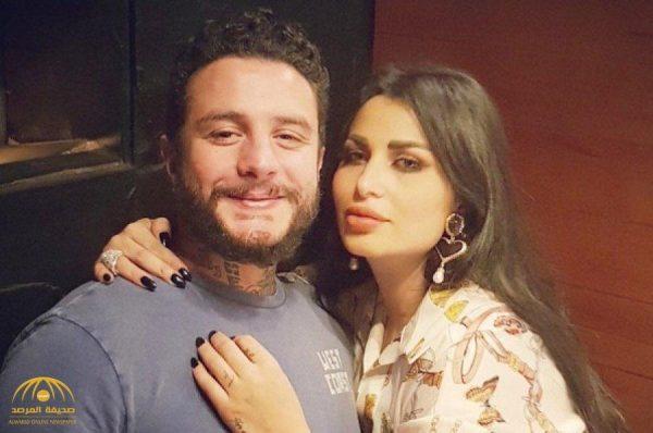 """شاهد .. أحمد الفيشاوي ينشر صوره مع زوجته في حديقة منزله .. و""""الكرش"""" يثير سخرية مواقع التواصل"""