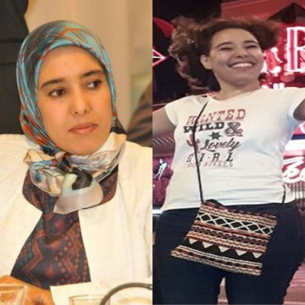 """69c2d53c0a3f5 انتشار صور لنائبة """" إخوانية """" ترقص بلا حجاب أمام ملهى ليلي شهير في باريس  تثير ضجة في المغرب!"""