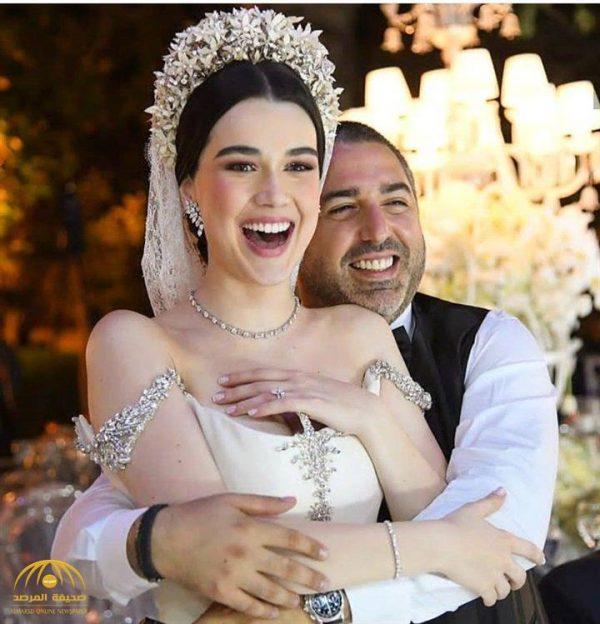"""بوجه ملائكي وإطلالة أميرات القصص .. شاهد.. العروس التي حيرت """" مواقع التواصل"""" !"""