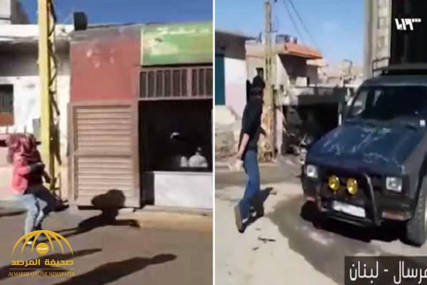 شاهد بالفيديو.. اعتداء وتكسير محلات لاجئين سوريين في عرسال اللبنانية!