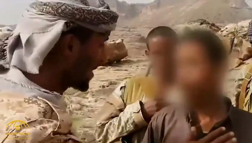 """""""والله ما أقتلك"""" .. شاهد : ردة فعل أطفال بعد هروبهم من الحوثيين إلى صفوف الشرعية"""