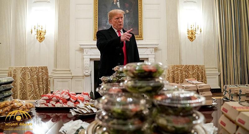 بعد الإغلاق الحكومي .. بالصور : شاهد ماذا فعل ترامب لتدبير الطعام لضيوفه في البيت الأبيض