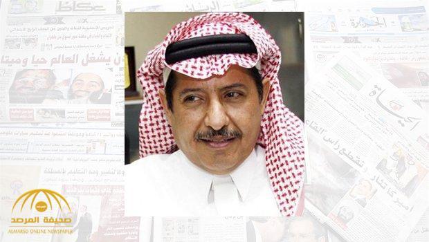 """""""محمد آل الشيخ"""" يعلق على مصير الأخونج داخل وخارج السعودية .. ويكشف الشخص الوحيد الذي يدعمهم في قطر !"""