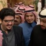 """شاهد فيديو جديد لـ""""عبدالعزيز بن فهد"""" أثناء استقباله المهنئين بالسلامة"""