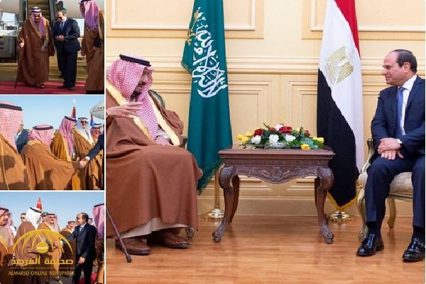 بالفيديو والصور: لحظة وصول الملك سلمان شرم الشيخ لترأس وفد المملكة في القمة العربية الأوروبية