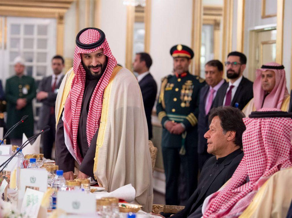بالفيديو .. ولي العهد : نعمل على بناء مستقبل عظيم للسعودية وباكستان والمنطقة