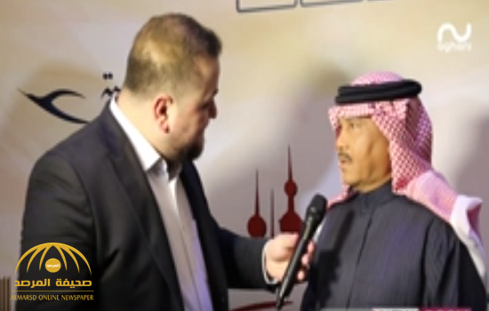 """بالفيديو.. أول تعليق للفنان محمد عبده على """"تجاهل"""" تركي آل الشيخ مصافحته"""
