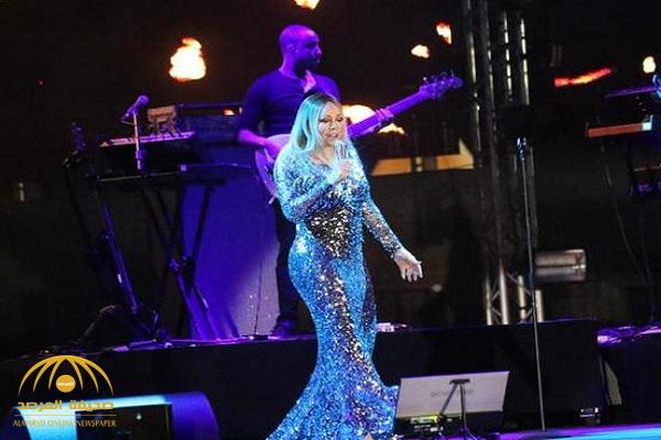 """الفنانة الأمريكية """"ماري كاري"""" تعلق على حفلها الأول في جدة.. وهذا ما قالته لـ """" الجمهور السعودي""""!"""